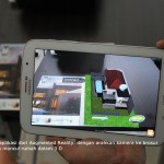 Augmented reality press conference with SmartSpin PR agency Jakarta