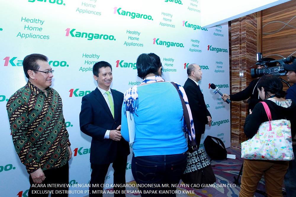 Kangaroo brand launching