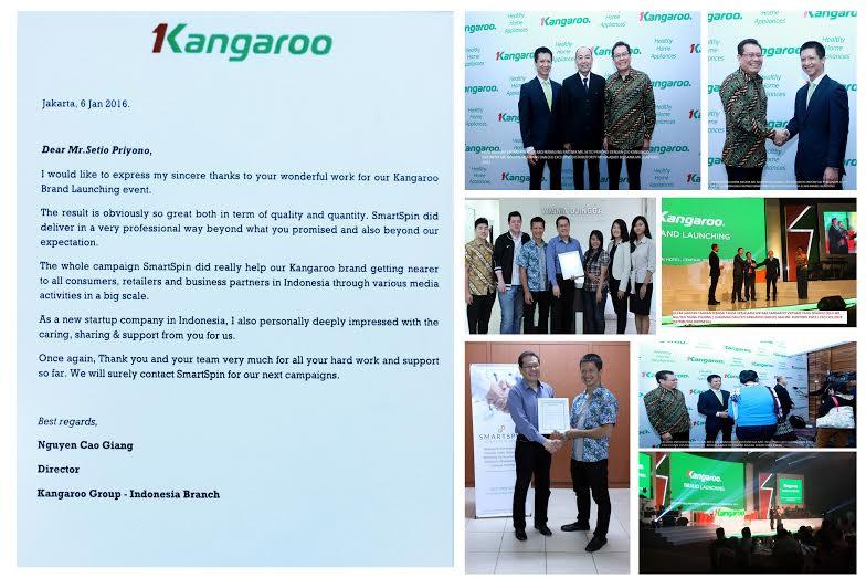 Testimonial from Kangaroo client